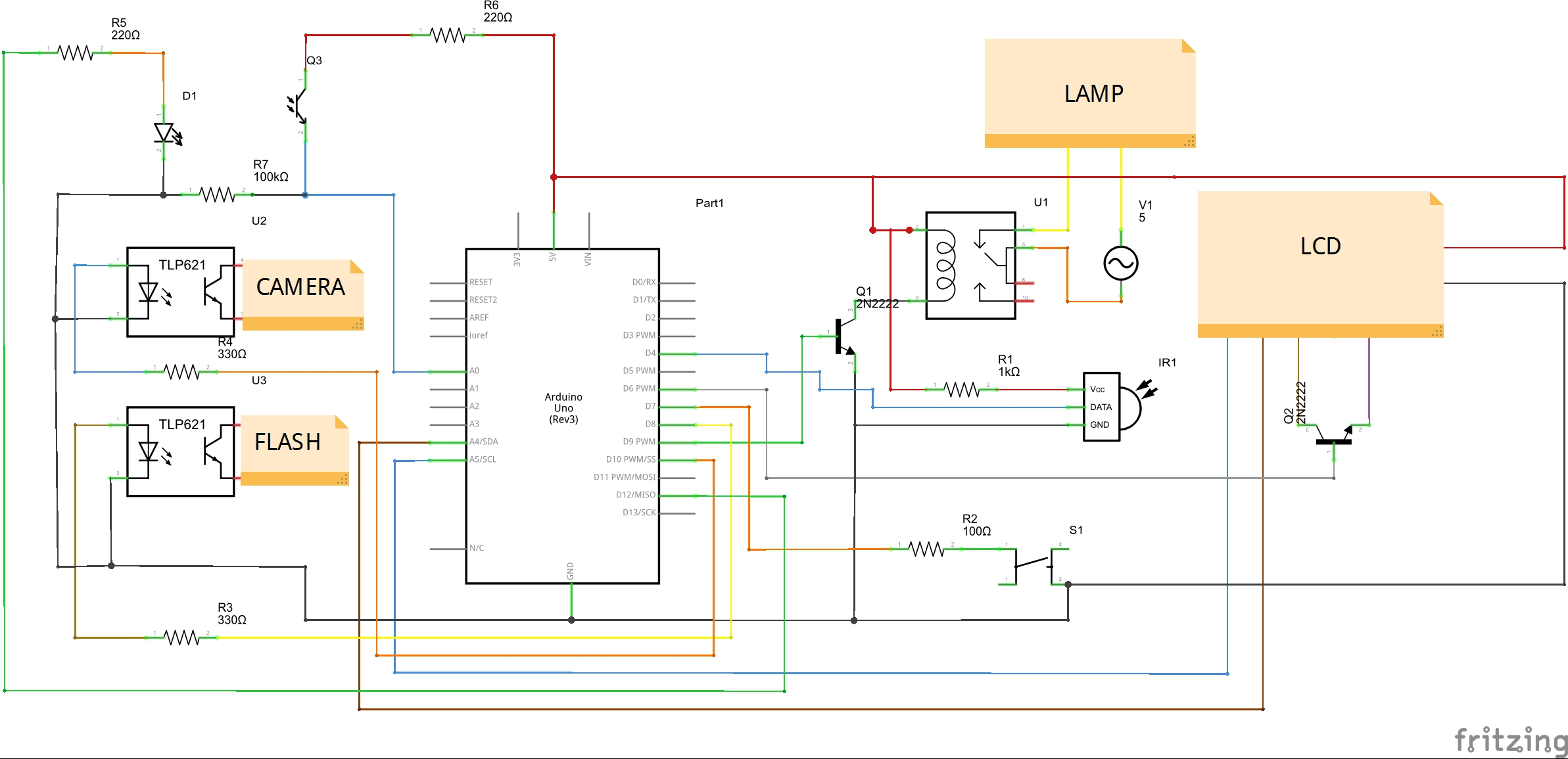 Arduino Photogate For High Speed Photography Z Hut The Schematic Of Darkactivated Switch Circuit We Will Build Is