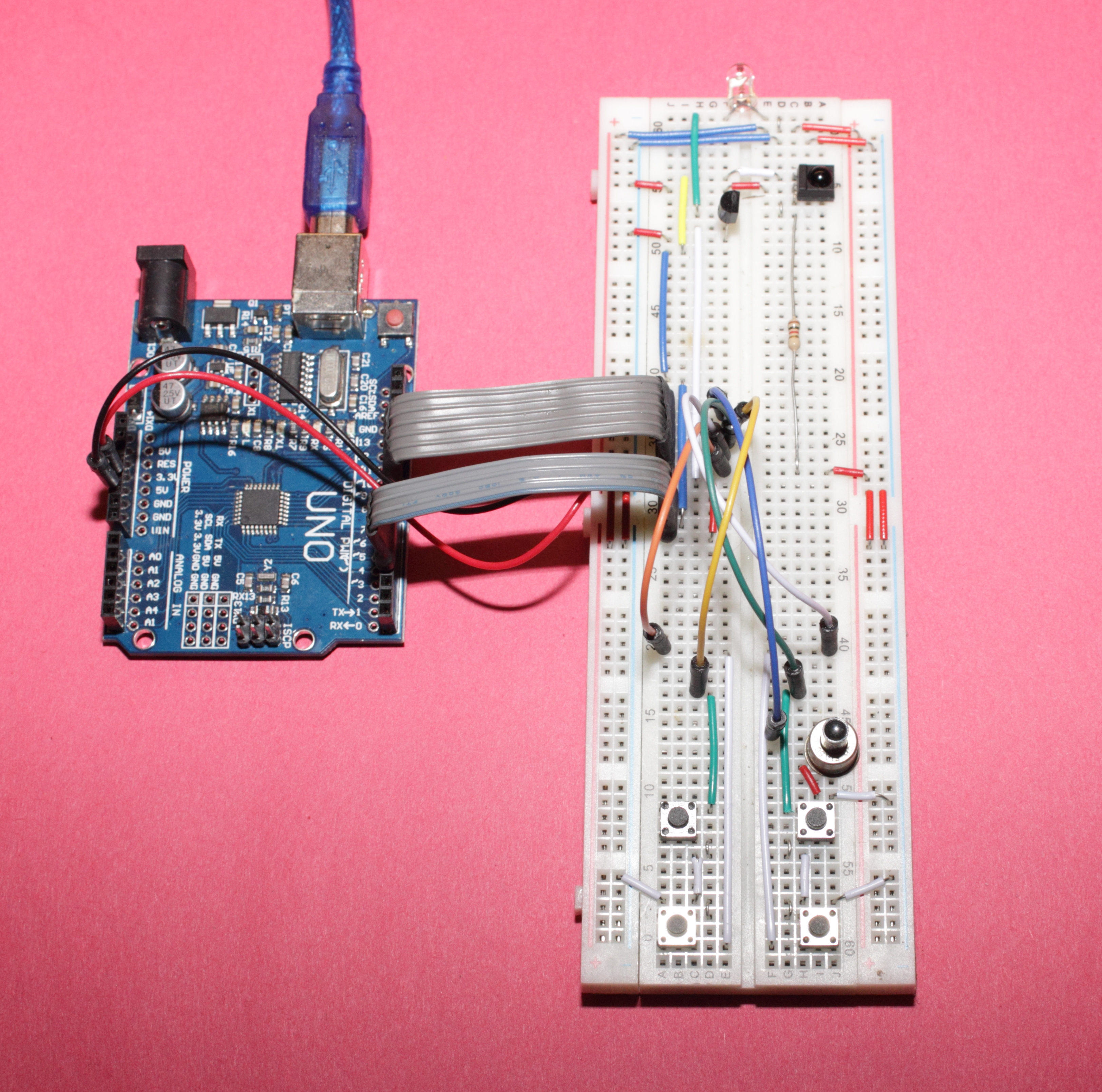 Arduino How To Build Your Own Universal Ir Remote Control Z Infrared
