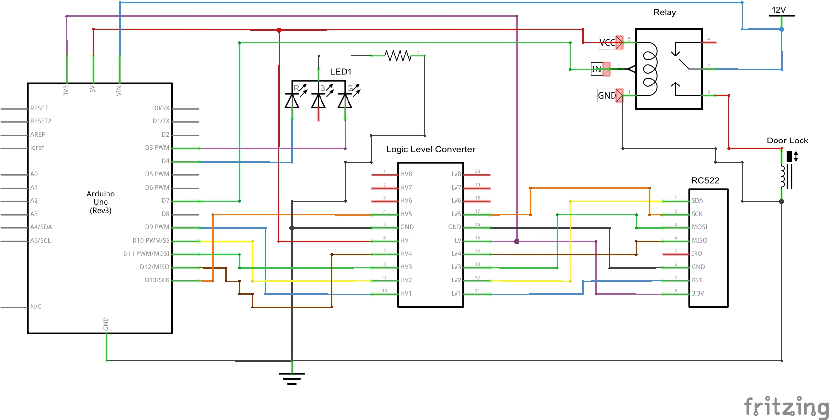 Learning Arduino For Beginners Ep30 Rfid Readers Z Hut The Schematic Of Darkactivated Switch Circuit We Will Build Is